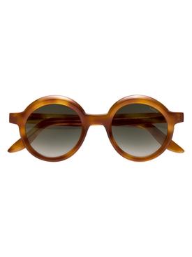 Joca round sunglasses, havana caramel