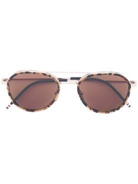 Thom Browne - Aviator Sunglasses - Women