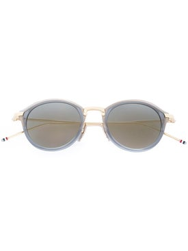 Thom Browne - Round Frame Sunglasses - Men