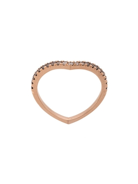 Ombre Sergeant Ring Rose Gold