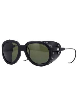 Altitude leather frange detail sunglasses
