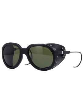 Altitude leather frange detail sunglasses