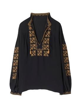 Karina Embroidered top