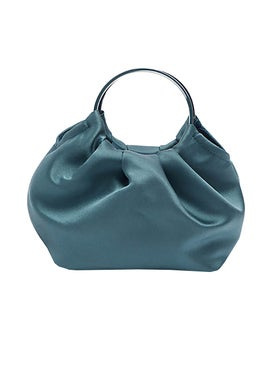 The Row - Micro Double Circle Bag Light Blue - Handbags