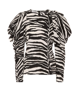 Dries Van Noten - Sheer Leopard Print Button-down Blouse - Women