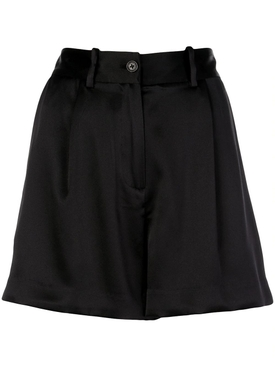 Silk Tailored Shorts
