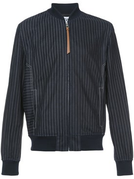 Loewe - Striped Bomber Jacket - Men