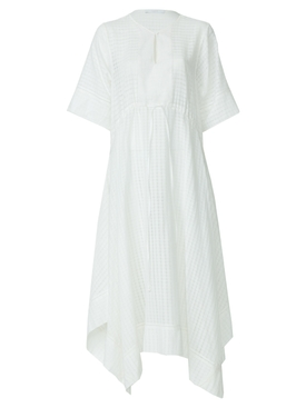 Bamford - Drawstring Dress White - Women