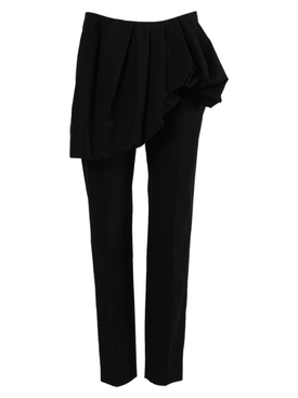 Patiar Asymmetrical Peplum Pants Black