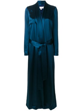 Galvan - Floor Length Evening Coat - Women