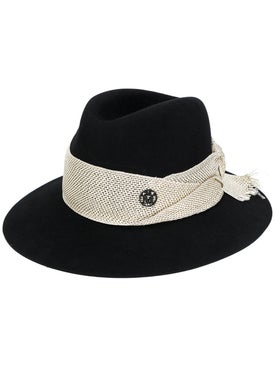 Maison Michel - Henrietta Frayed Band Hat - Women