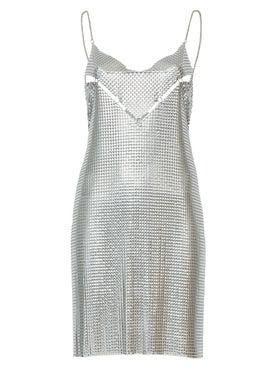 Paco Rabanne - Diamond Mesh Short Dress - Women