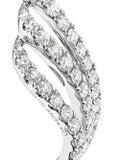 Anita Ko - Wave Diamond Earrings - Women