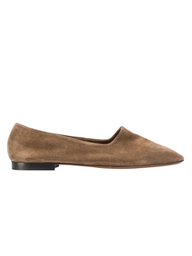 Andrano Brown Suede Loafer