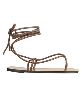 ALEZIO KHAKI BROWN SANDAL