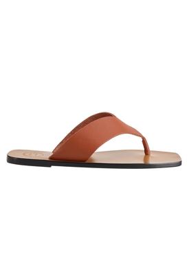 Marine Rust Leather Sandals