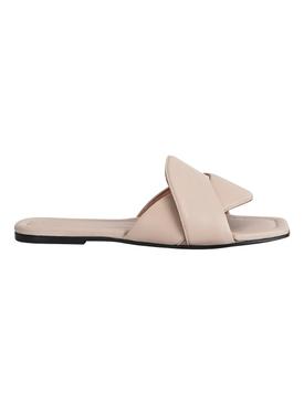 Capurso Nappa Leather Sandal, Sand Beige
