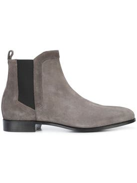 Pierre Hardy - Drugstore Round Toe Ankle Boots Grey - Men