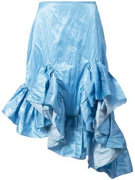 Marques'almeida - Melted Frill Skirt - Women