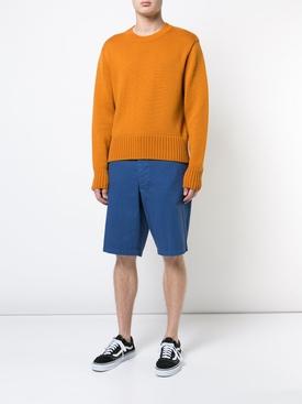 classic chino shorts BLUE