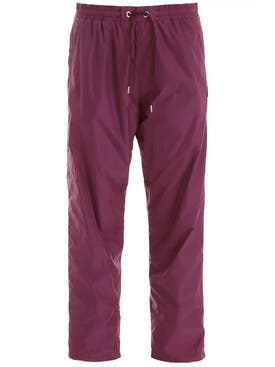 Moncler - Purple Drawstring Joggers - Men