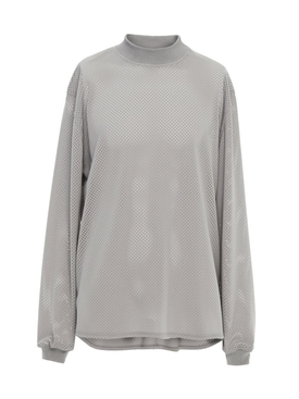 long sleeve mesh tee shirt