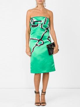 Marni - Strapless Sheath Dress - Women