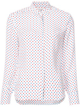 Hvn - Cristina Polka Dot Blouse Multicolor - Women