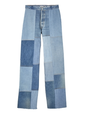 The Amina patch denim pants