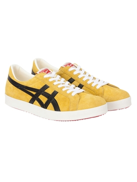 Yellow Suede Low-Top Nippon Made Sneakers