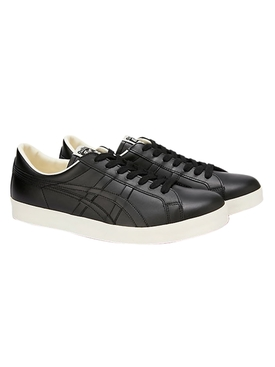 Black Leather Low-Top Nippon Made Sneakers