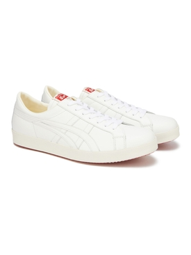 White Leather Low-top Nippon Made Sneakers