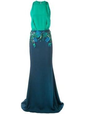 Cushnie - Floral Appliqué Dress - Women