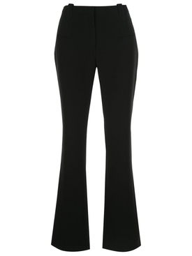 Black High Rise Flare Pants