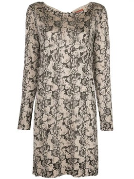 Altuzarra - Snake Print Knit Dress - Women