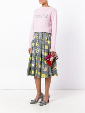 Olympia Le-tan - I Confess Cashmere Sweater - Knitwear