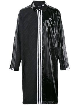 Adidas - Contrasting Panel Logo Coat Black - Women