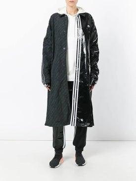 Adidas - Contrasting Panel Logo Coat Black - Long
