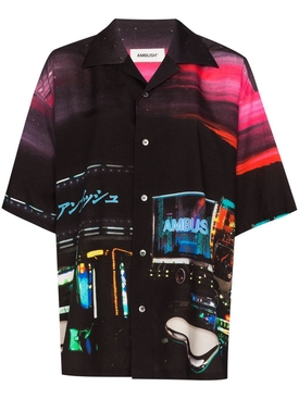 Multicolored Dekotora Print Shirt