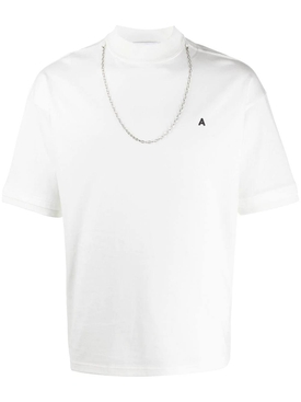 Ambush - Chain Detail Crewneck T-shirt White - Men