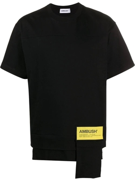 Waist pocket logo t-shirt BLACK