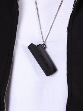 Lighter Case Necklace BLACK