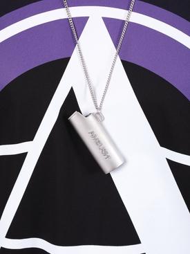 Lighter Case Necklace SILVER