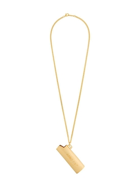 Lighter Case Necklace GOLD