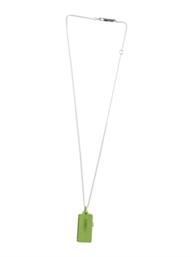 16GB USB Charm Necklace GREEN
