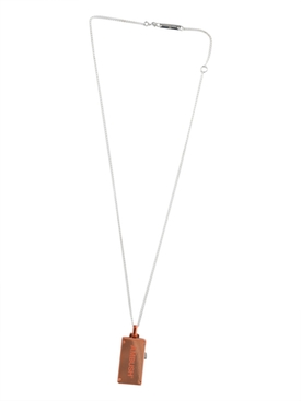 16GB USB Charm Necklace ORANGE