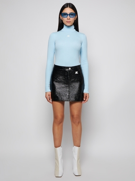 Reedition Long-sleeve Knit Jumper Pastel Blue