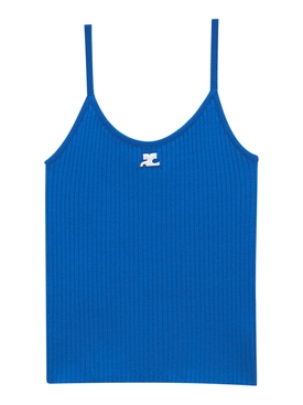 Reedition Knit Tank Top Blue