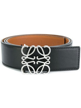 Loewe - Leather Anagram Belt - Women