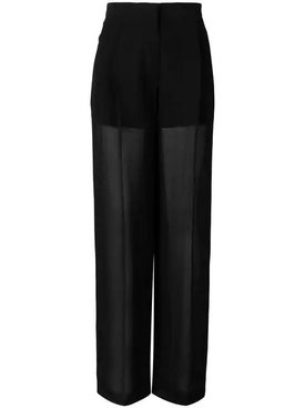 Sonia Rykiel - Wide-leg Sheer Trousers - Women